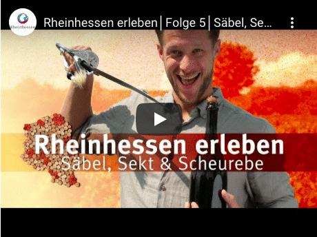 Rheinhessen erleben Sekt Säbel Raumland