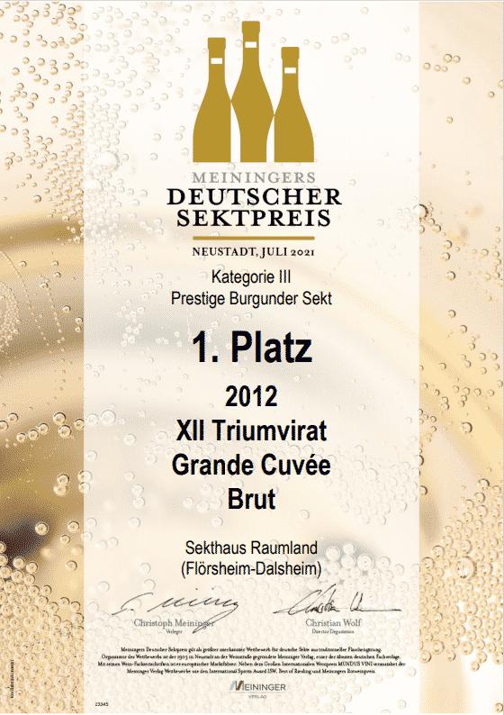 Coup beim Meininger Deutscher Sektpreis